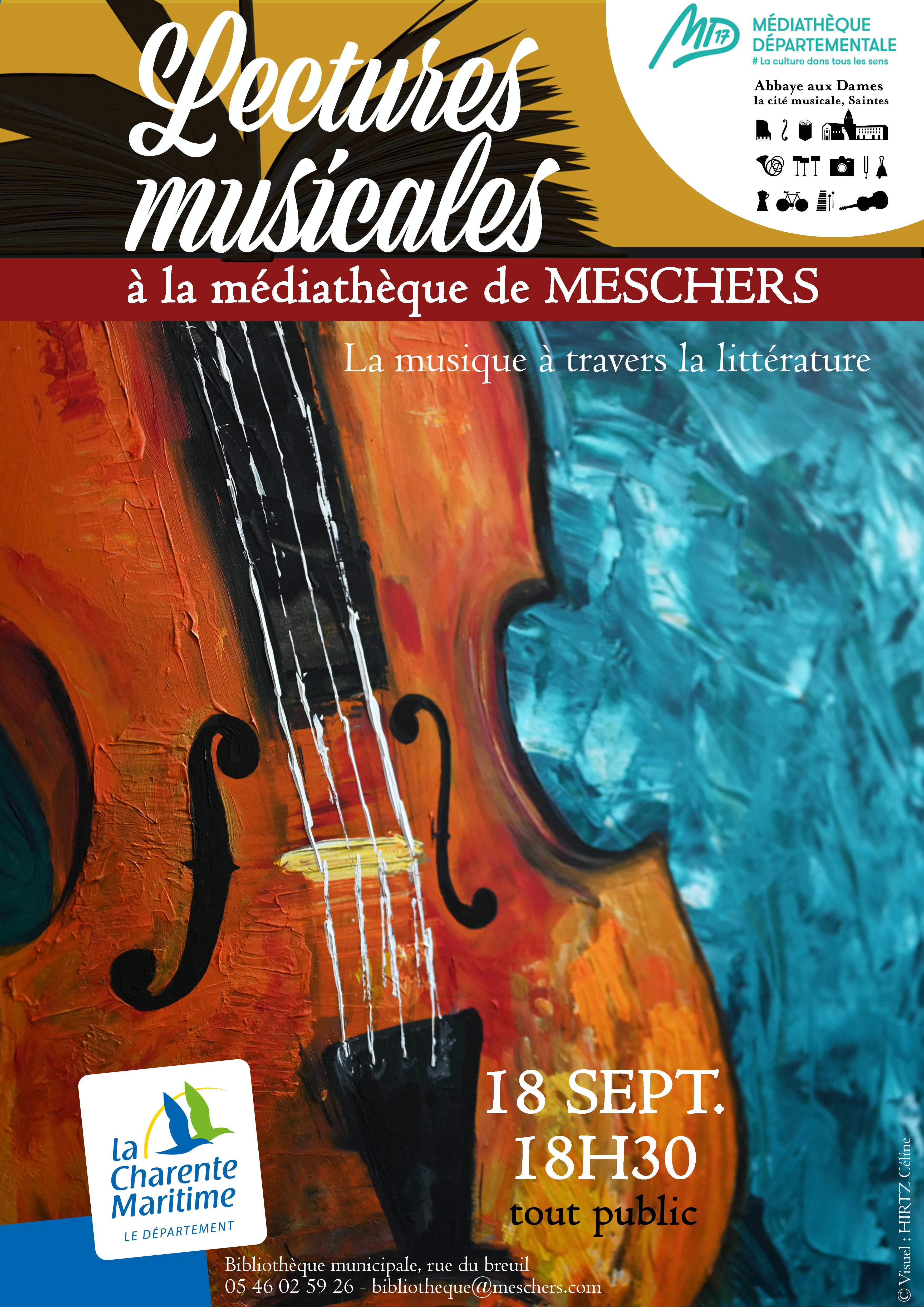Affiche A3 Lectures musicales2019 MESCHERS v2